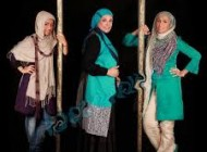 آزاده اسماعیل خانی دختر گوهر خیراندیش و زنده یاد جمشید اسماعیل خانی در ستایش