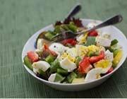 کاهش وزن سالم با یک سالاد ویژه سبزیجات