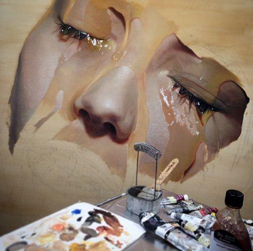 نقاشی های واقعی که با فکرتان بازی میکند