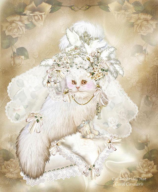 نقاشی گربه های اشرافی ملوس و ناز