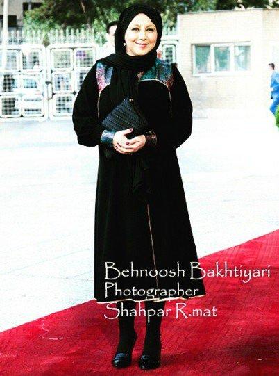 حجاب زیبای بهنوش بختیاری در جشن حافظ رسانه ای شد