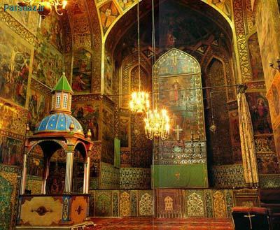 آشنایی با کلیسای وانک یا آمنا پرکیج و تصاویر زیبا از معماری زیبای ایرانی آن