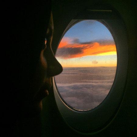 تصویری زیبا از صبا راد و متن زیبای ضمیمه آن