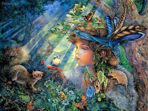 نقاشی های بسیار زیبا و دیدنی با مضمون رویا