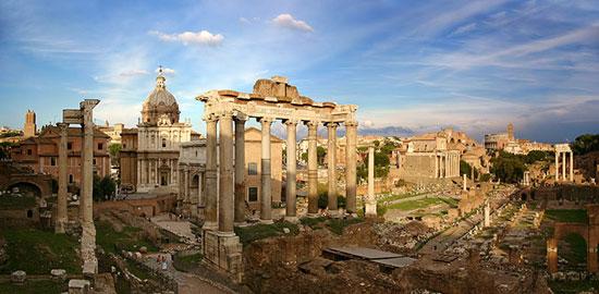 تصاویر دیدنی از مکان های دیدنی روم باستان