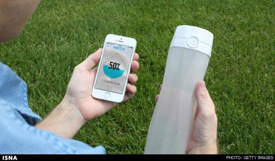 اختراع بطری آب هوشمند برای سلامتی بیشتر انسان