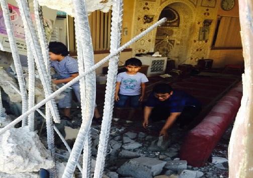 تخریب بی اجازه مسجد و بی حرمتی به قرآن اشک مردم را در آورد