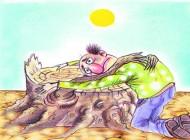 سری جدید کاریکاتور محیط زیست و کم آبی