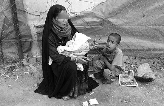 تصاویر زنان معتاد و بی خانمان ایرانی