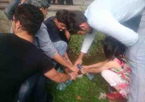 هنجارشکنی و آب بازی در کرج در ماه مبارک رمضان
