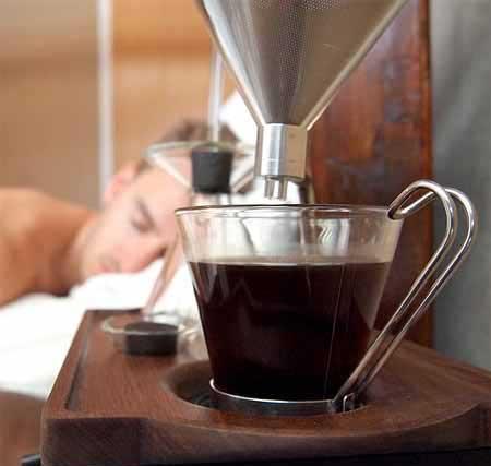 طراحی جالب ساعت قهوه ساز