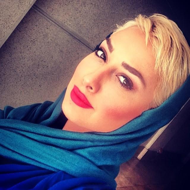 پیامک جنجالی صدف طاهریان بعد از کشف حجاب + عکس