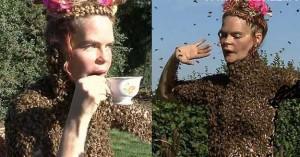 رقص زیبای زنبوری این زن