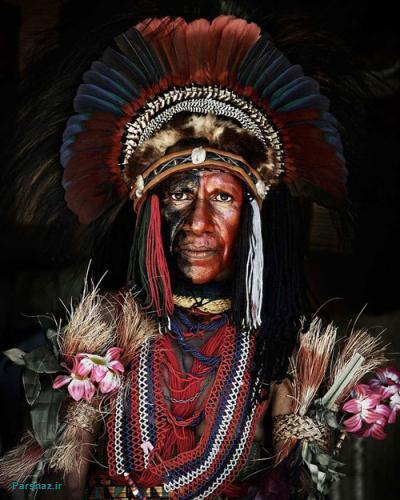 تصاویر بی نظیر از رسوم و پوشش و سبک زندگی قبایل بومی نواحی مختلف جهان