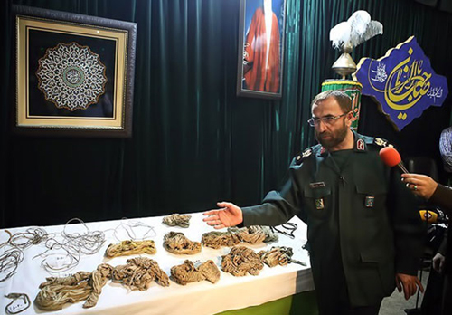 عکس های دردناک پیکر یکی از 175 غواص شهید با دست های بسته