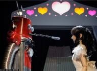عکس جالب عشق و عروسی ربات ها