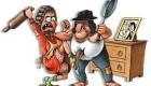 تصاویر طنز از دعوای زن و شوهر ها