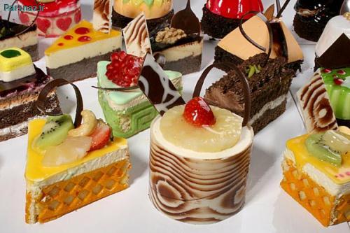 تصاویر شیرینی های خوشمزه که دهنتان را آب می اندازد
