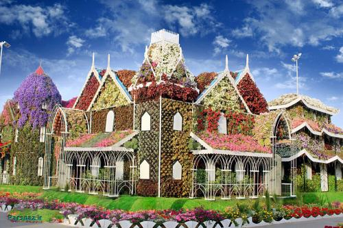 تصاوی بسیار زیبا از گل کاری باغ های معروف جهان