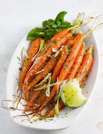 ایده هایی برای انواع دیزاین غذا با هویج