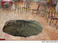 سقوط ۵ کارگر در داخل چاه یکی از رستوران های معروف تهران + عکس