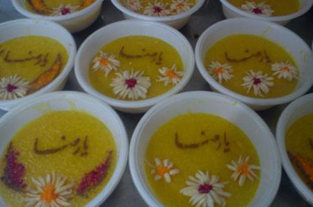 مدل های زیبای تزئین شله زرد ویژه ماه رمضان