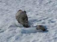 کشف مومیایی 55 ساله در برف ها