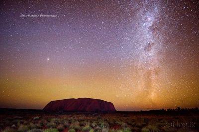عکس های دیدنی از طبیعت زیبای صحراهای استرالیا