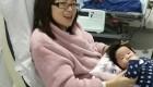 این زن با صدای قلب نوزادش جان دوباره گرفت