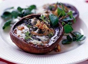 طرز تهیه کردن قارچ شکم پر لذیذ