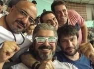 تصاویر سلفی بعد از برد والیبال ایران به امریکا با حضور بازیگران