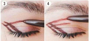 آموزش استپ بای استپ آرایش چشم قهوه ای