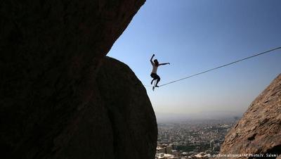 اسلکلاین تفریح ترسناک و حفظ تعادل در تهران