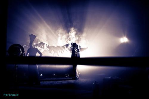 عکس های بهرام رادان در پشت صحنه موزیک ویدیو جیغ