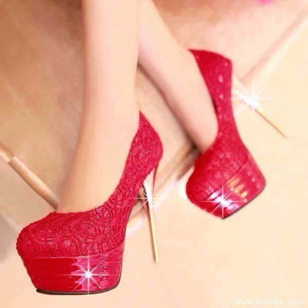 مدل کفش های مجلسی تابستانی پاشنه دار 2015