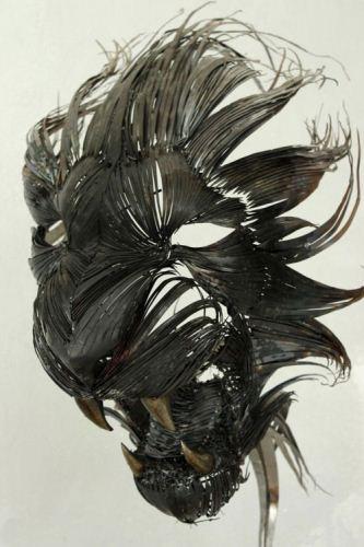ماسک های فلزی دست ساز و خلاقانه حیوانی