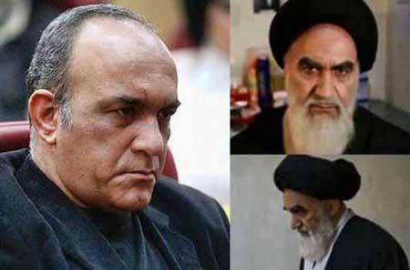 گریم بازیگران در نقش امام خمینی (ره)