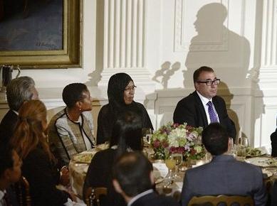 مراسم  افطاری در کاخ سفید با حضور رئیس جمهور