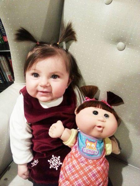 این بچه ها چقدر شبیه عروسک هاشونن
