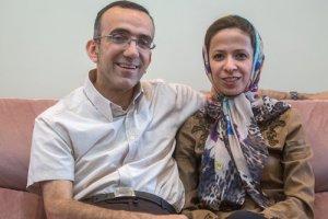 تصاویر زیبا از زندگی مشترک زن و شوهری که ام اس دارند