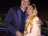 تصاویر علی دایی و همسرش مونا فرخ آذری در حراج بزرگ آثار هنرهای تجسمی