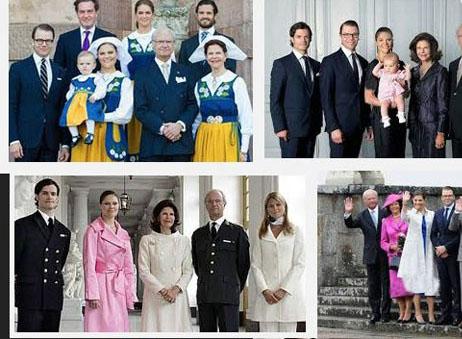 تصاویر عروسی فوق مجلل شاهزاده جدید خانواده سلطنتی سوئد