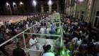 بزرگترین سفره افطاری جهان در حرم امام رضا با 360 هزار روزه دار