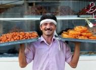 آیین زیبای زولبیا بامیه فروشی با الوداعخوانی در گیلان