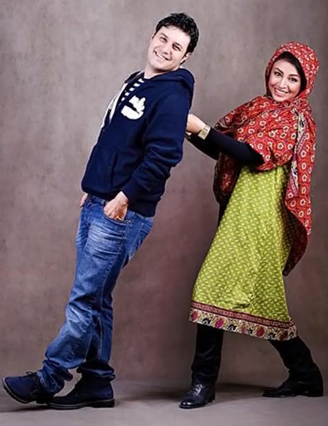 تصاویر و زندگینامه مه لقا باقری و همسرش جواد عزتی