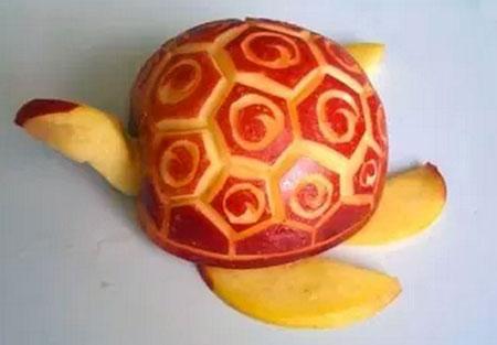 ایده های تزیین سیب سرخ برای دیزاین و میوه آرایی