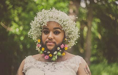 یگانه زن ریش دار دنیا عروس شد