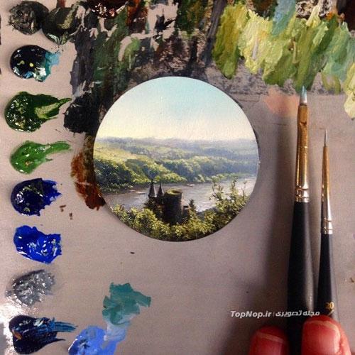 بوم های کوچک و متفاوت برای نقاشی منظره