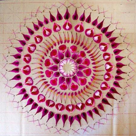 آثار هنری بسیار زیبا باگل و گلبرگ