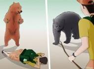 زن عشایر به دلیل آنتن ندادن گوشی هدف حمله خرس شد